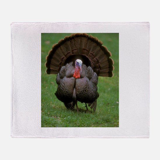 Turkey Throw Blanket