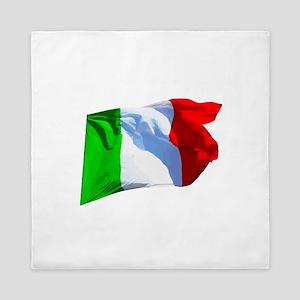 Flag of Italy 2a Queen Duvet