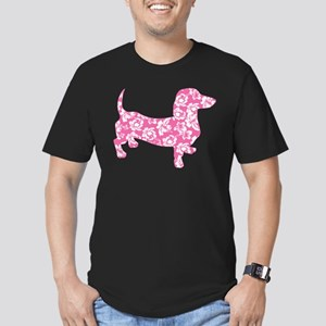 Hawaiian Pink Doxie Dachshund T-Shirt