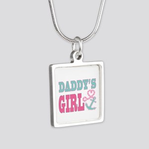 Daddys Girl Boat Anchor and Heart Necklaces
