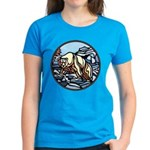Polar Bear Art Women's Dark T-Shirt Painting