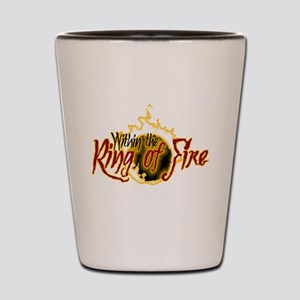 Within the Ring of Fire - Shot Glass
