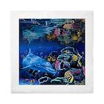 Reef Dolphin Queen Duvet Cover