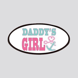 Daddys Girl Boat Anchor and Heart Patches