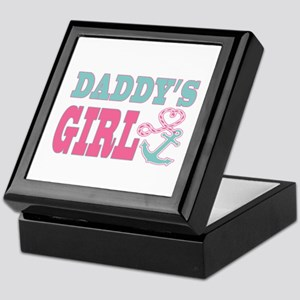 Daddys Girl Boat Anchor and Heart Keepsake Box