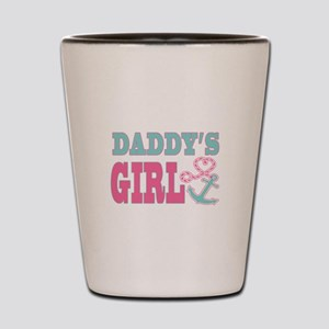 Daddys Girl Boat Anchor and Heart Shot Glass