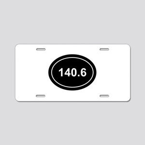 IM distance Aluminum License Plate