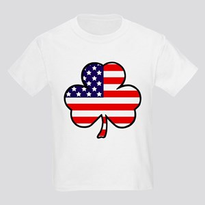 'USA Shamrock' Kids Light T-Shirt