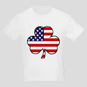 'USA Shamrock' Kids Light T-Shirt