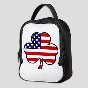 'USA Shamrock' Neoprene Lunch Bag