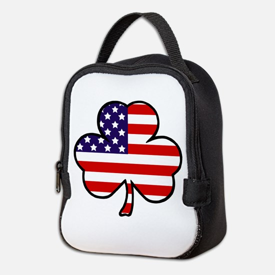 'USA Shamrock' Neoprene Lunch Bag