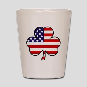 'USA Shamrock' Shot Glass