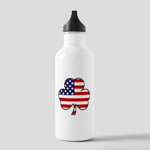 'USA Shamrock' Stainless Water Bottle 1.0L