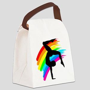 NUMBER 1 GYMNAST Canvas Lunch Bag