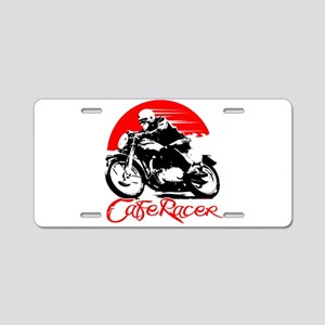 Cafe Racer Aluminum License Plate