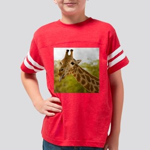 Giraffe Head Youth Football Shirt