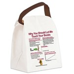Touch Your Boobs Canvas Lunch Bag