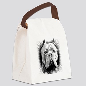 Cane Corso Dog Canvas Lunch Bag