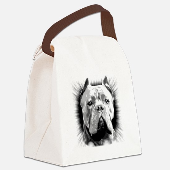 Cane Corso Dog Canvas Lunch Bag