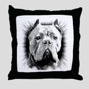 Cane Corso Dog Throw Pillow