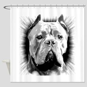 Cane Corso Dog Shower Curtain