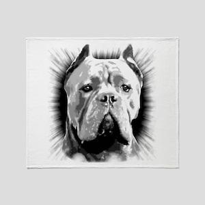 Cane Corso Dog Throw Blanket