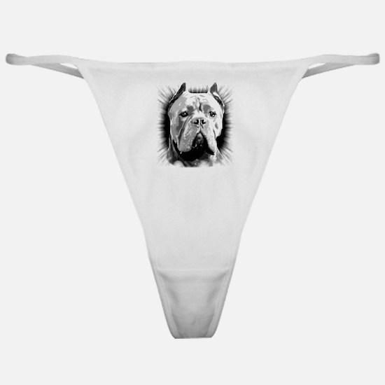 Cane Corso Dog Classic Thong