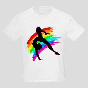 DAZZLING GYMNAST Kids Light T-Shirt