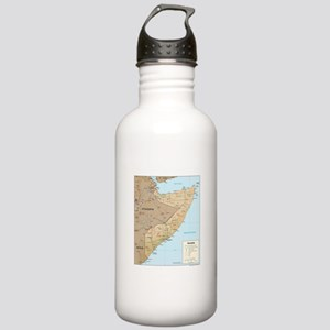 Somalia Map Stainless Water Bottle 1.0L