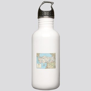 Turkey Map Stainless Water Bottle 1.0L