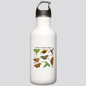 Moths of North America Stainless Water Bottle 1.0L