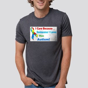 Autism Awareness Mens Tri-blend T-Shirt