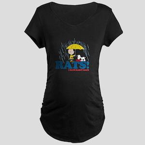 Rats! Maternity Dark T-Shirt