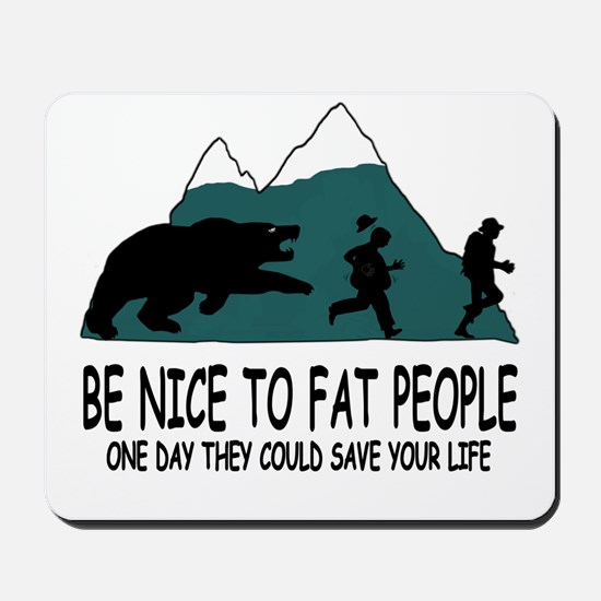 Fat people Mousepad