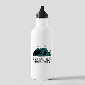 Fat people Sports Water Bottle