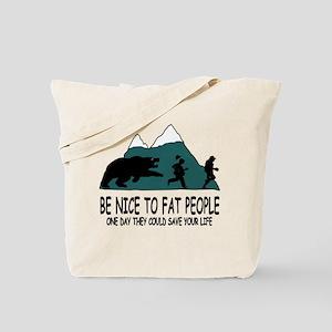 Fat people Tote Bag