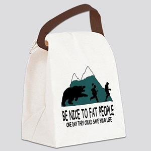 Fat people Canvas Lunch Bag