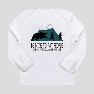 Fat people Long Sleeve T-Shirt