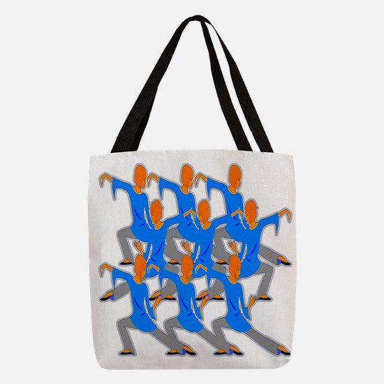 In The Flow Polyester Tote Bag