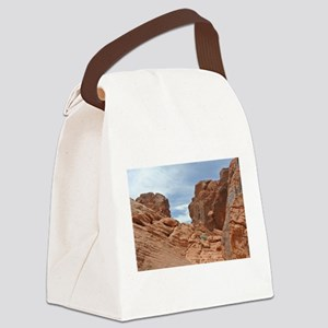 King of the hill! Canvas Lunch Bag