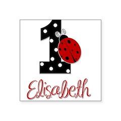 1 Ladybug ELISABETH - Custom Sticker