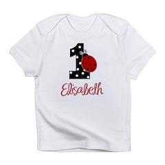 1 Ladybug ELISABETH - Custom Infant T-Shirt