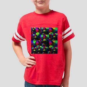 monalisa_13rainbow_mosaics Youth Football Shirt
