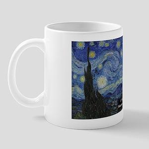 Starry Night Historical Mugs