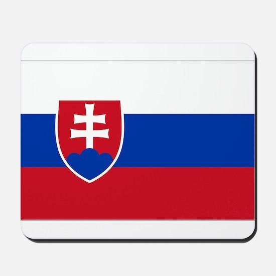 Flag of Slovakia Mousepad