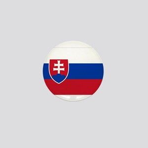 Flag of Slovakia Mini Button
