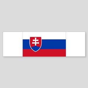 Flag of Slovakia Bumper Sticker