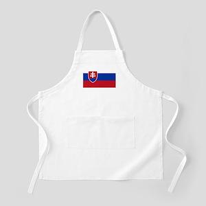 Flag of Slovakia BBQ Apron