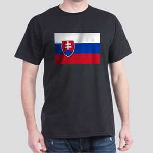 Flag of Slovakia Dark T-Shirt