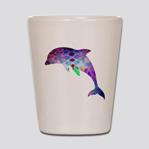 dolphin Shot Glass
